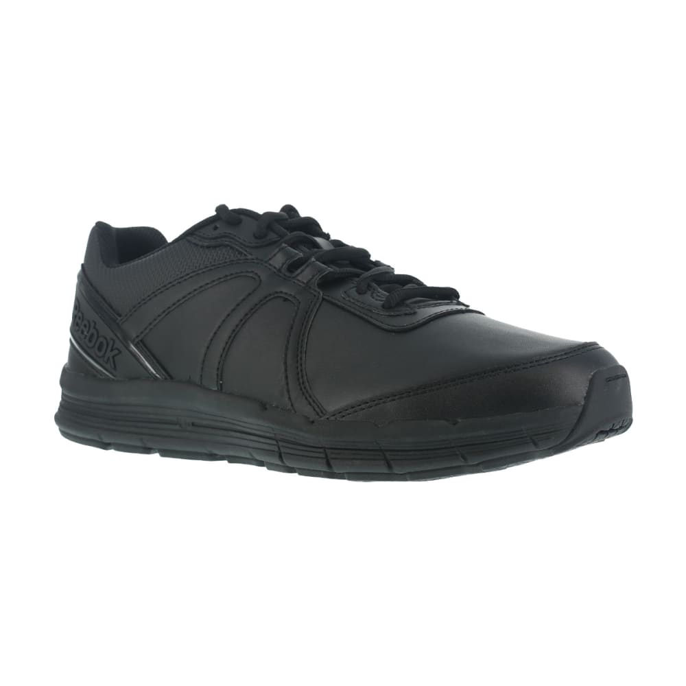 REEBOK WORK Women's Guide Work Soft Toe Work Shoes, Black, Wide 6