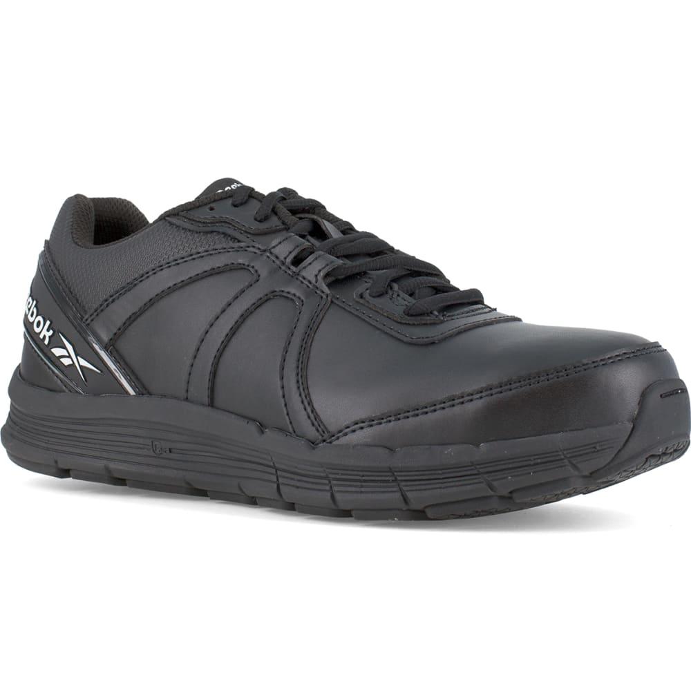 REEBOK WORK Women's Guide Work Steel Toe Work Shoes, Black, Wide 6
