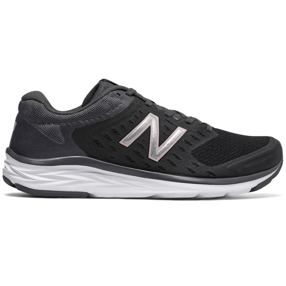 New Balance Women's 490V5 Running Shoes, Black/magnet