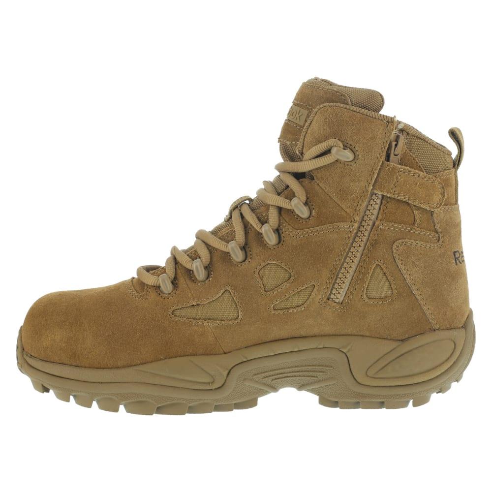 REEBOK WORK Men's Rapid Response RB Composite Toe Work Boots, Coyote - COYOTE