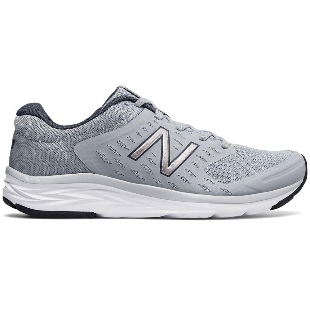 New Balance Women's 490V5 Running Shoes, Silver Mink/thunder, Wide - Black, 7