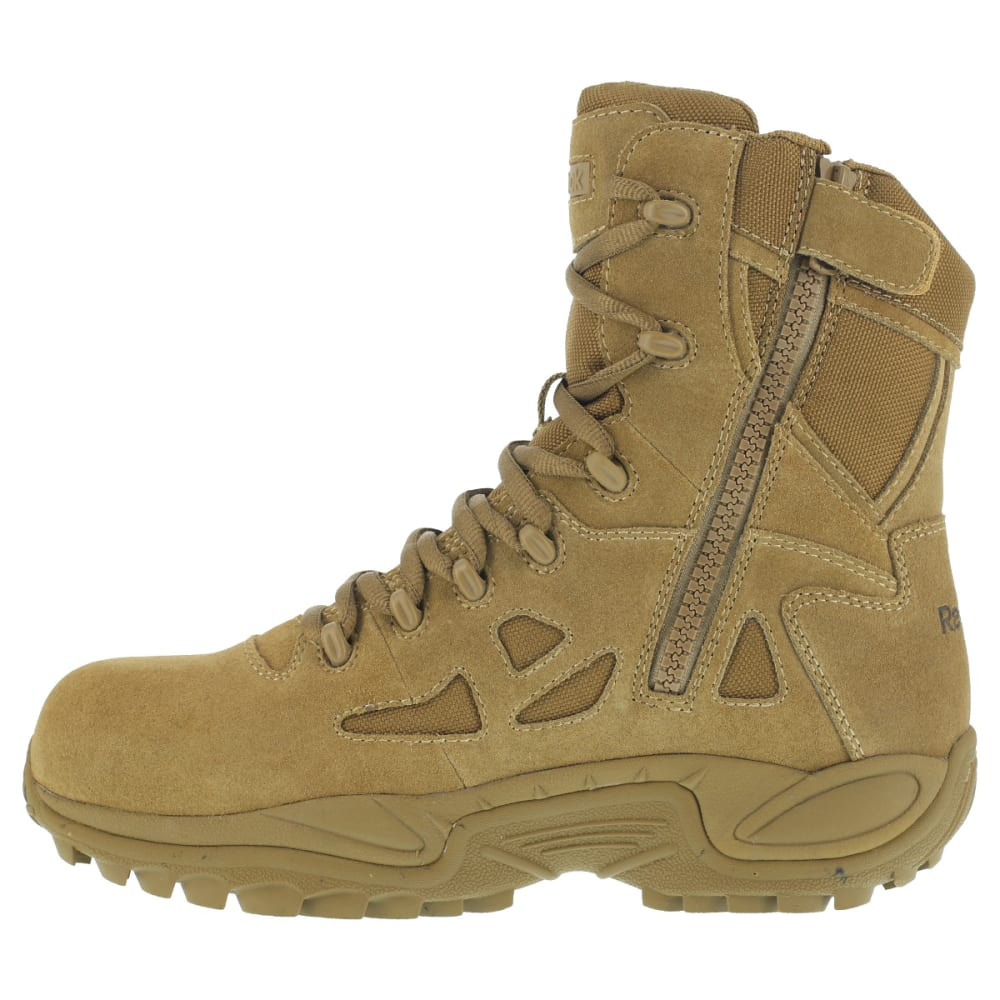 REEBOK WORK Women's Rapid Response Composite Toe Work Boots, Coyote - COYOTE