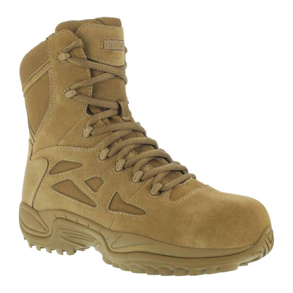 REEBOK WORK Women's Rapid Response Composite Toe Work Boots, Coyote 5