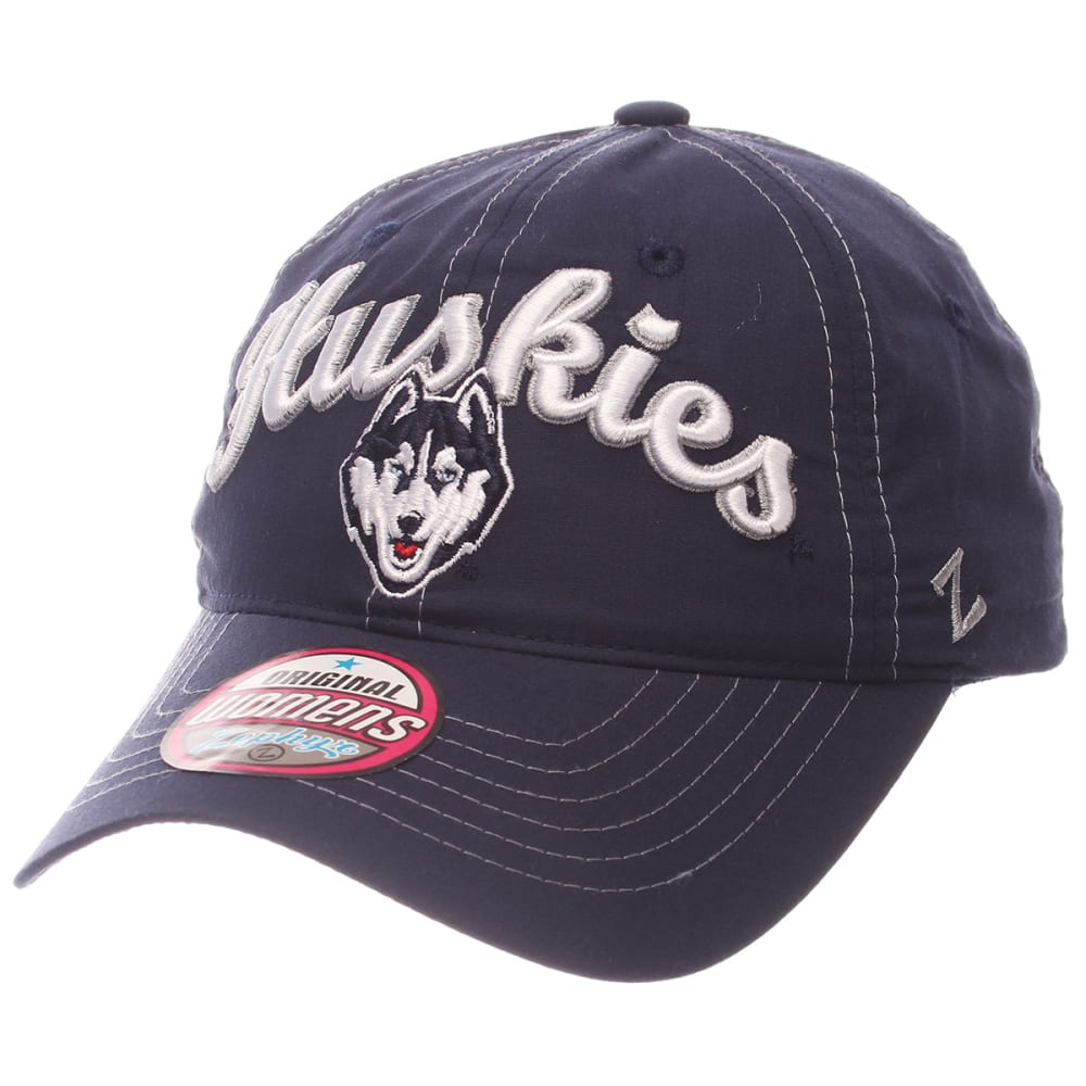 UCONN Women's Fit Adjustable Cap - NAVY