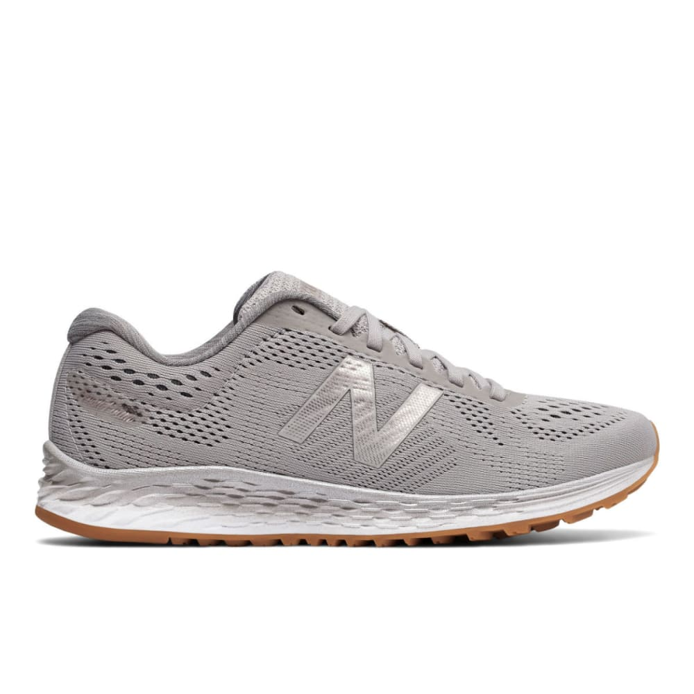 NEW BALANCE Women's Fresh Foam Arishi Running Shoes, Overcast/Castlerock/Champagne Metal - OVERCAST