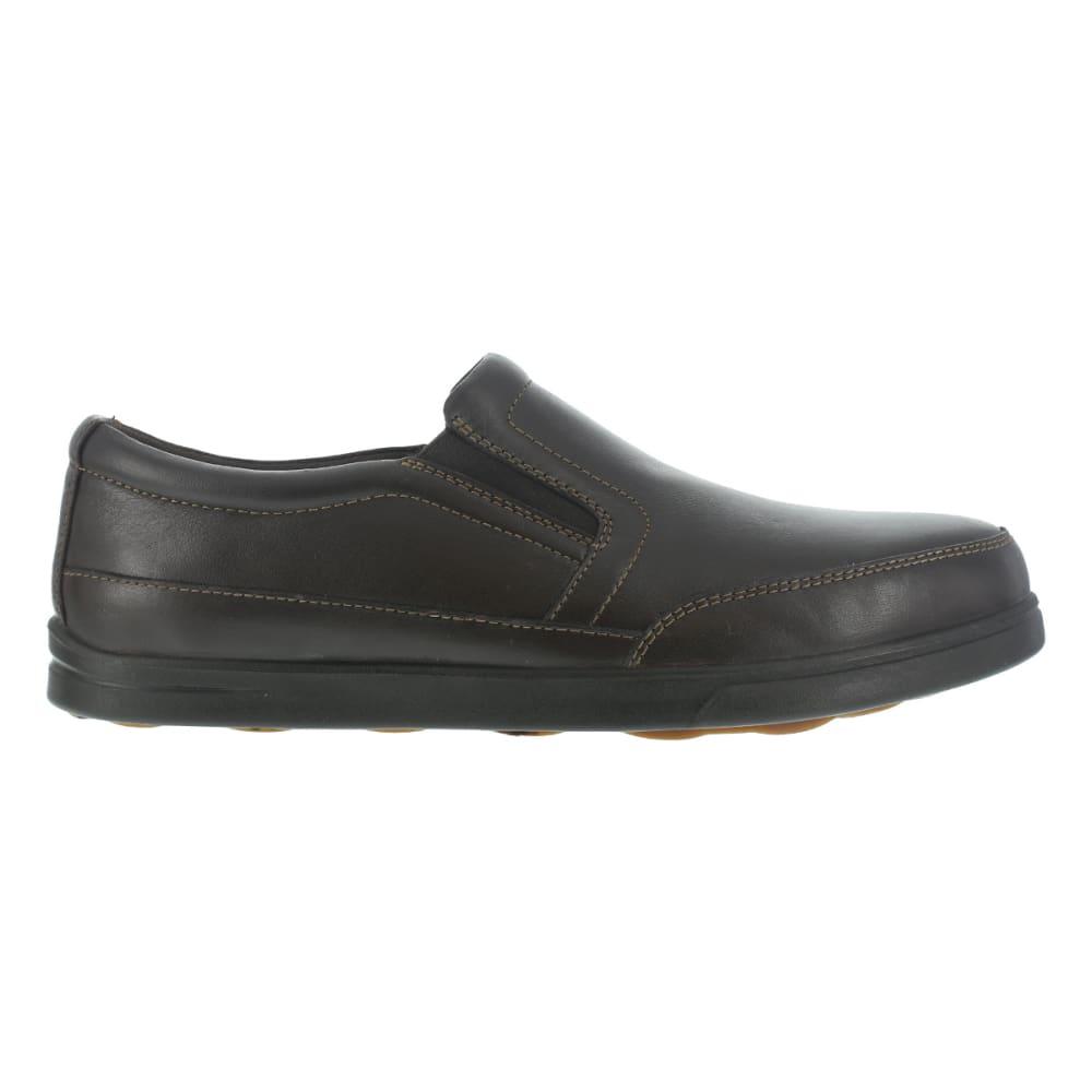 FLORSHEIM WORK Men's Stoss Steel Toe Oxford Work Shoes, Brown - BROWN