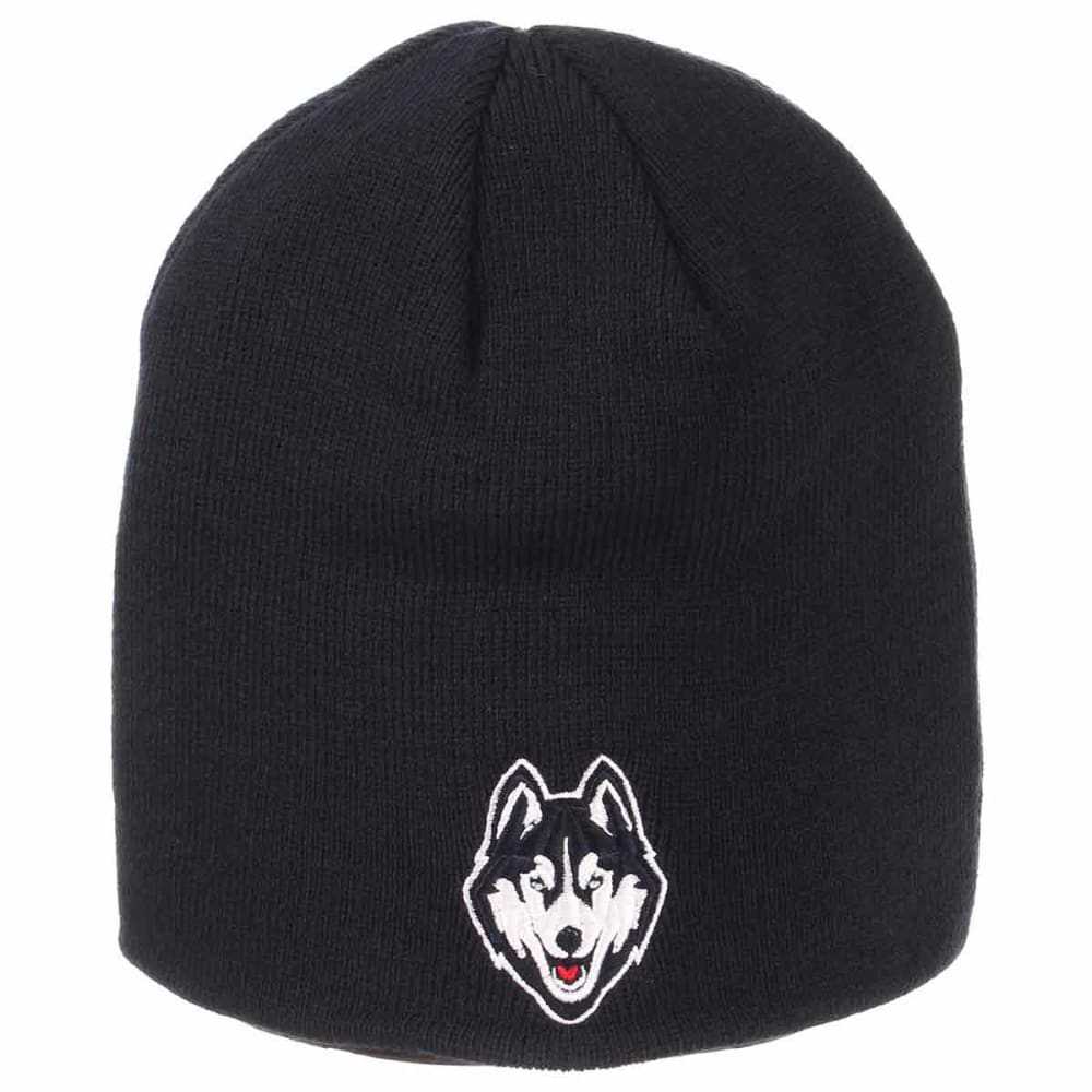 UCONN Edge Knit Beanie - NAVY
