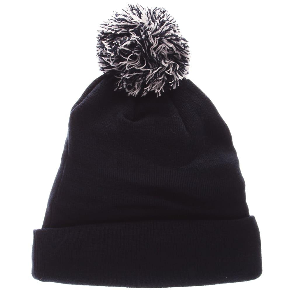 UCONN Cuffed Pom Knit Beanie - NAVY