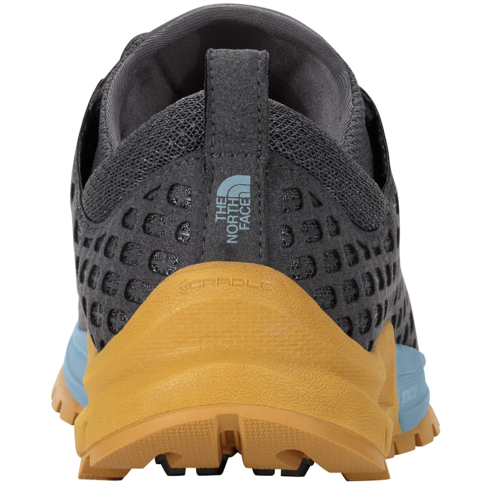 THE NORTH FACE Women's Mountain Sneaker Shoes, Zinc Grey/Tour Blue - ZINC GRY/TOUR BLUE