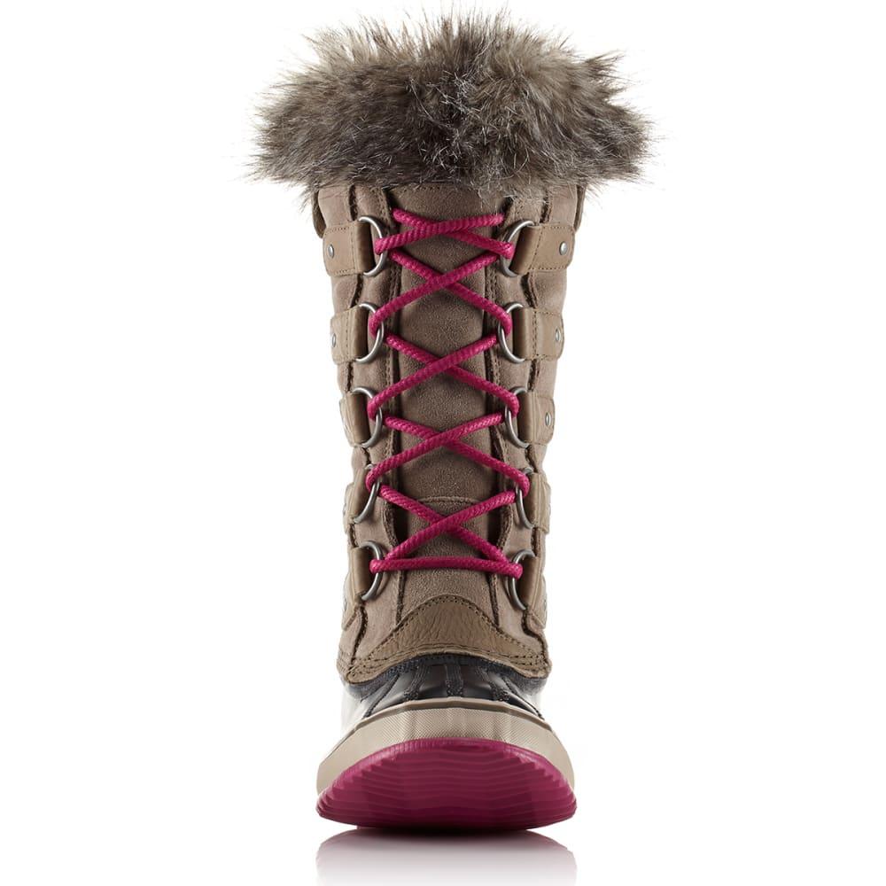 SOREL Women's Joan of Arctic Boots, Pebble/Deep Blush - PEBBLE/DEEP BLUSH