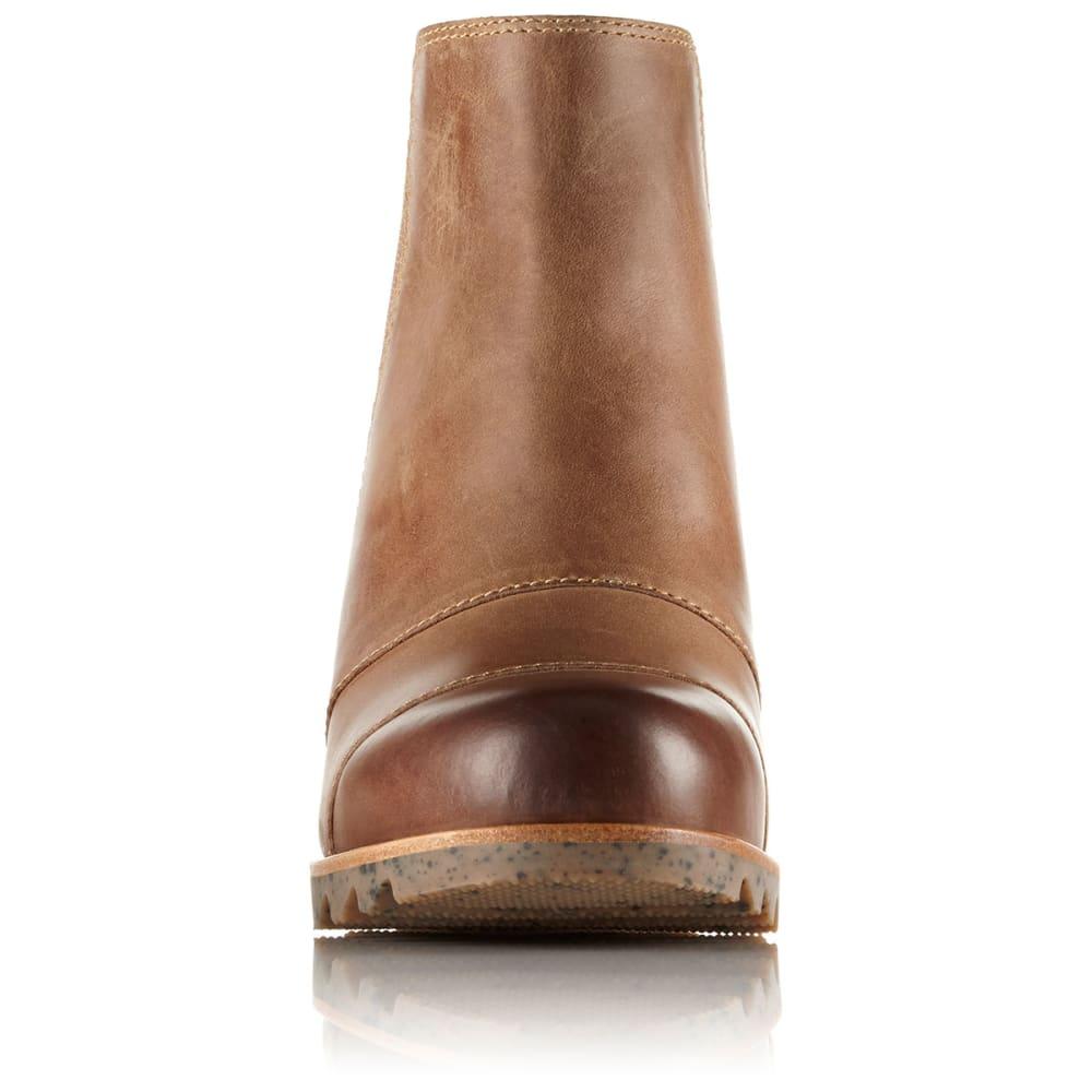 SOREL Women's Lea™ Wedge Waterproof Boots, Elk - ELK
