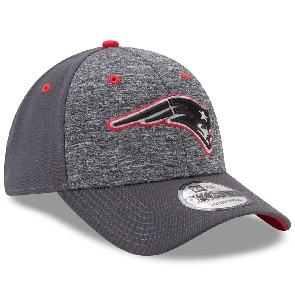 NEW ENGLAND PATRIOTS New Era The League Shadow 2 9FORTY Adjustable Cap - GREY