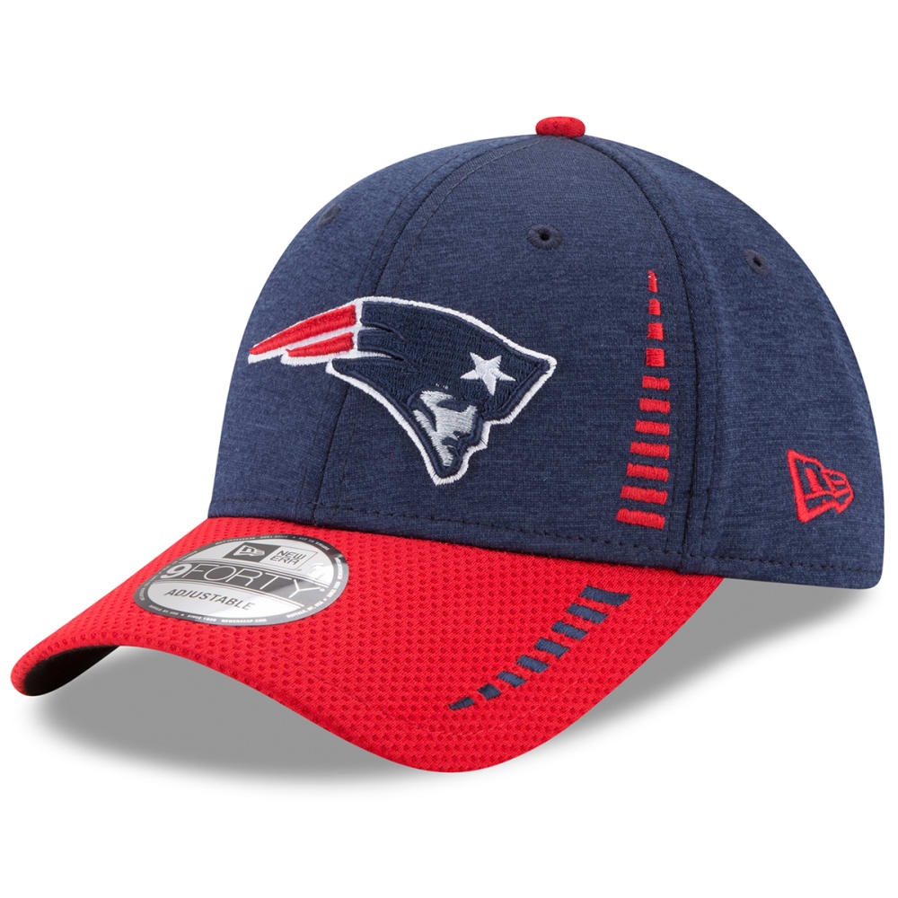 NEW ENGLAND PATRIOTS New Era Speed Tech 9FORTY Adjustable Cap - NAVY