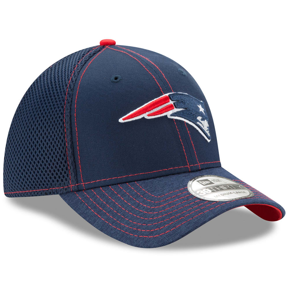 NEW ENGLAND PATRIOTS New Era Shadowed Team 2 39THIRTY Flex Fitted Cap - NAVY