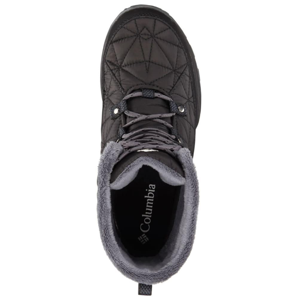 COLUMBIA Women's Loveland™ Mid Omni-Heat™ Waterproof Insulated Winter Boots, Black/Sea Salt - BLACK/SEA SALT