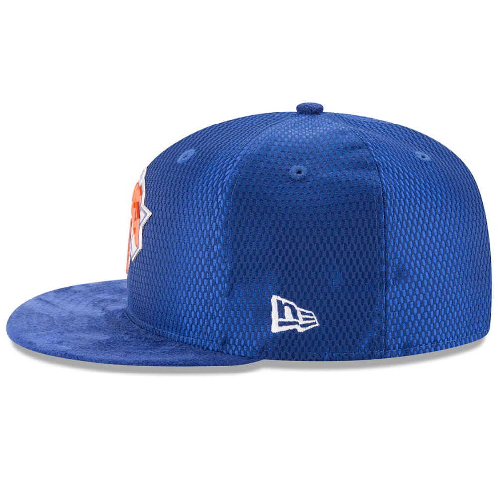 NEW YORK KNICKS Men's On-Court 59Fifty Cap - ROYAL BLUE