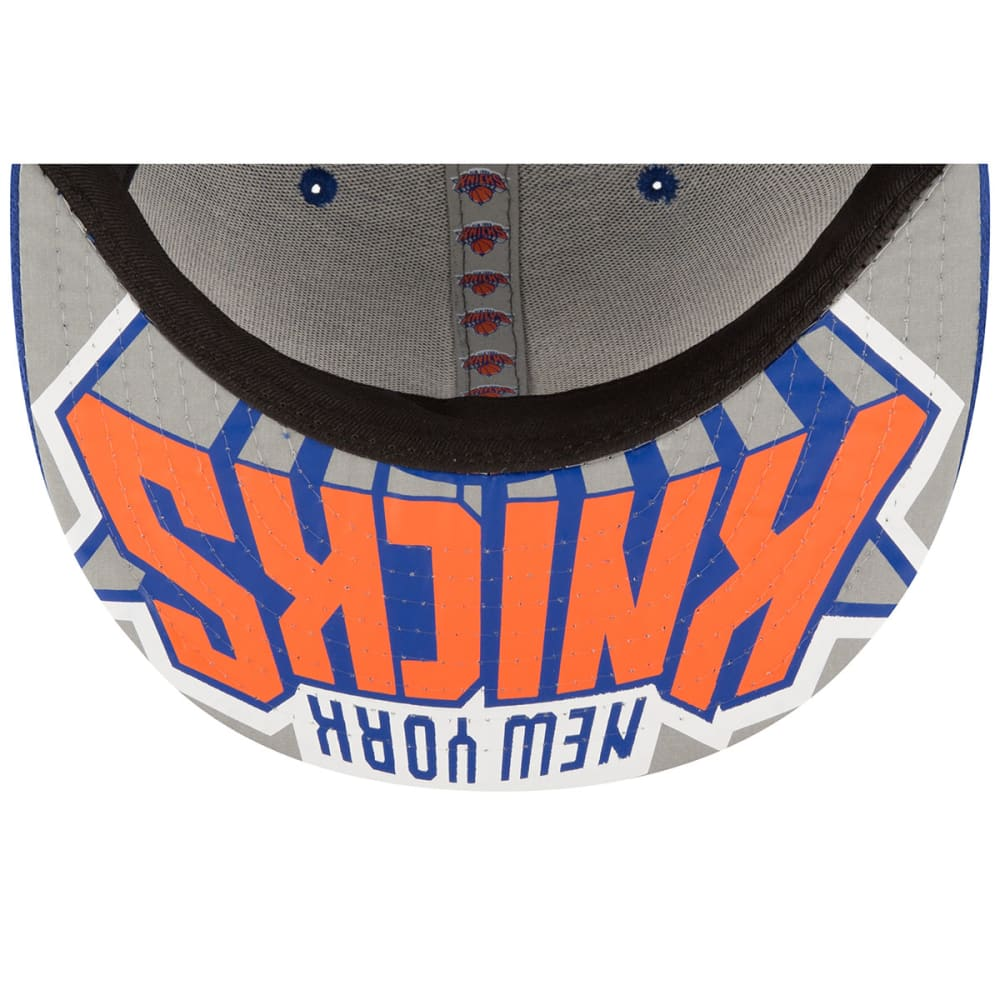 NEW YORK KNICKS Men's On-Court 59Fifty Cap - ROYAL BLUE