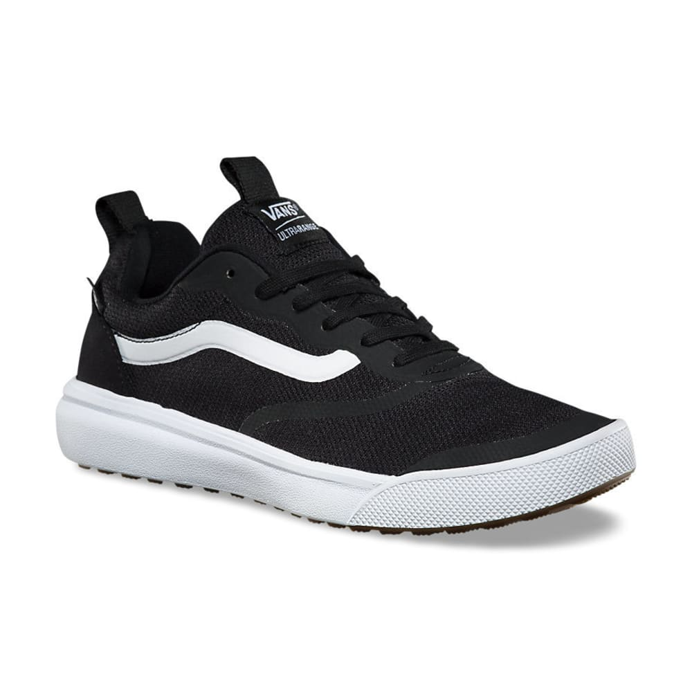 VANS Men's UltraRange Skate Shoes, Black/White M 10 / W 11.5