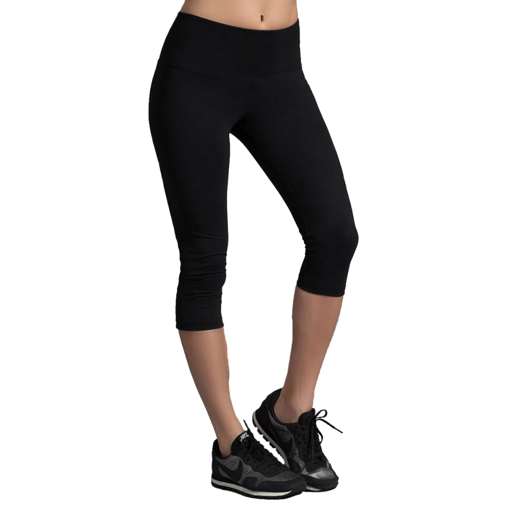 MARIKA Women's Brooke High Rise Tummy Control Capri Leggings S