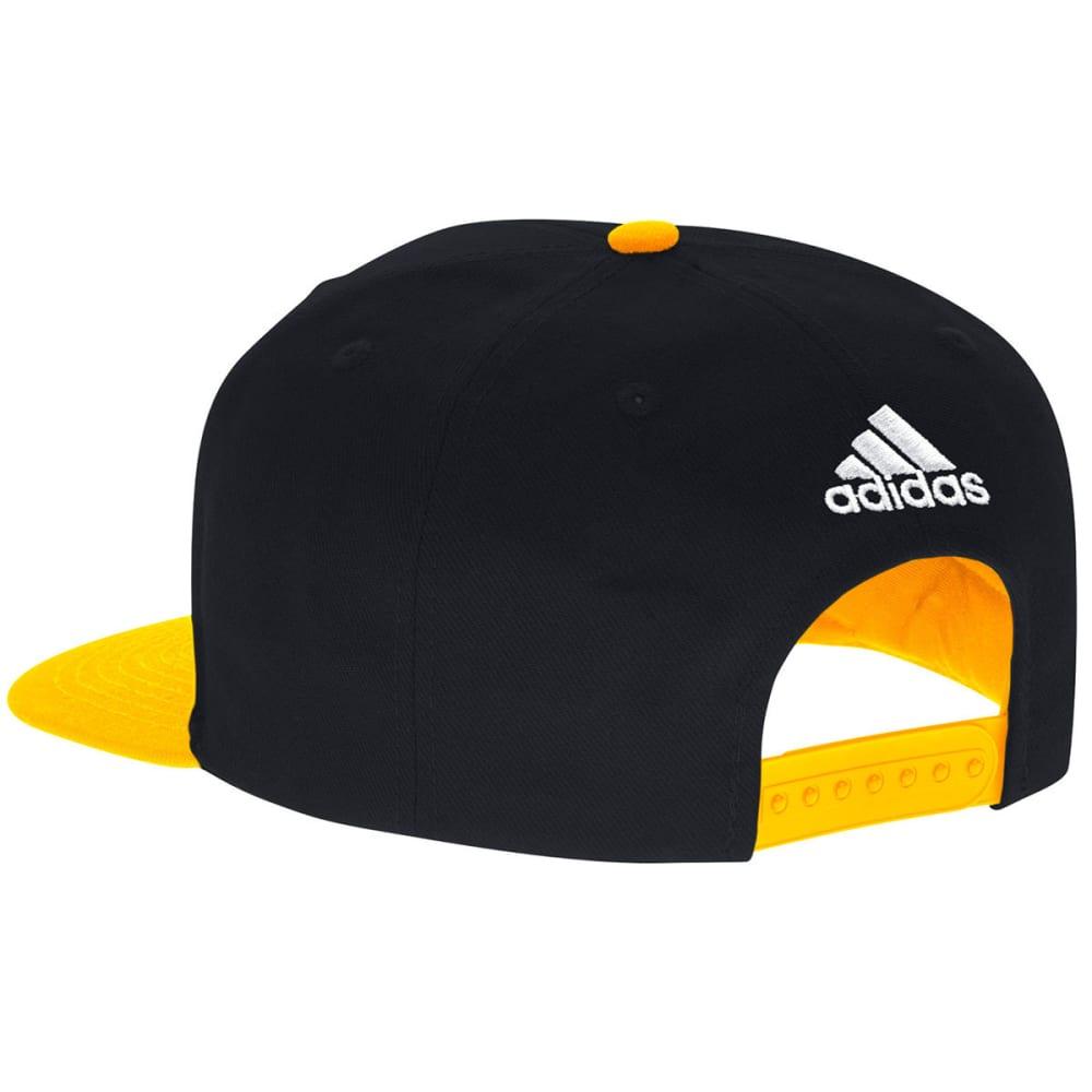 ADIDAS Men's Boston Bruins Dassler Flat Brim Snapback Cap - BLACK/GOLD