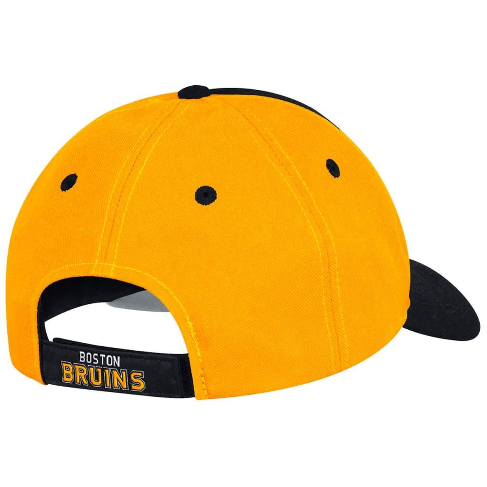 ADIDAS Men's Boston Bruins Structured Circle Logo Adjustable Cap - BLACK