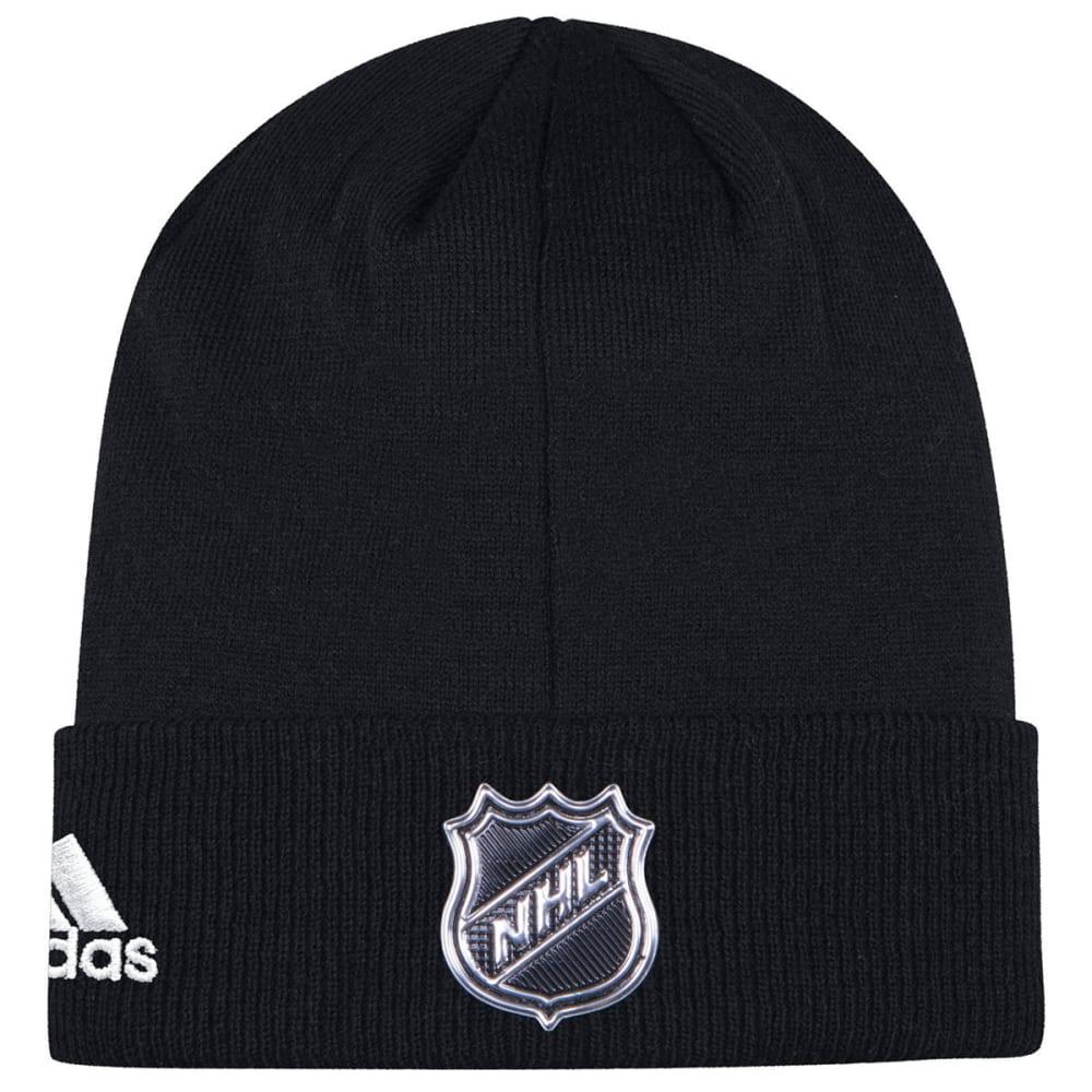 ADIDAS Men's Boston Bruins Locker Room Cuffed Beanie - BLACK