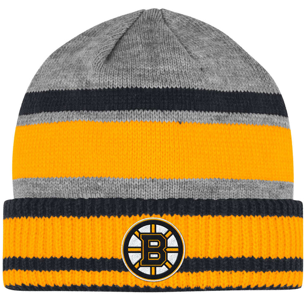 Adidas Men's Boston Bruins Heathered Cuffed Beanie