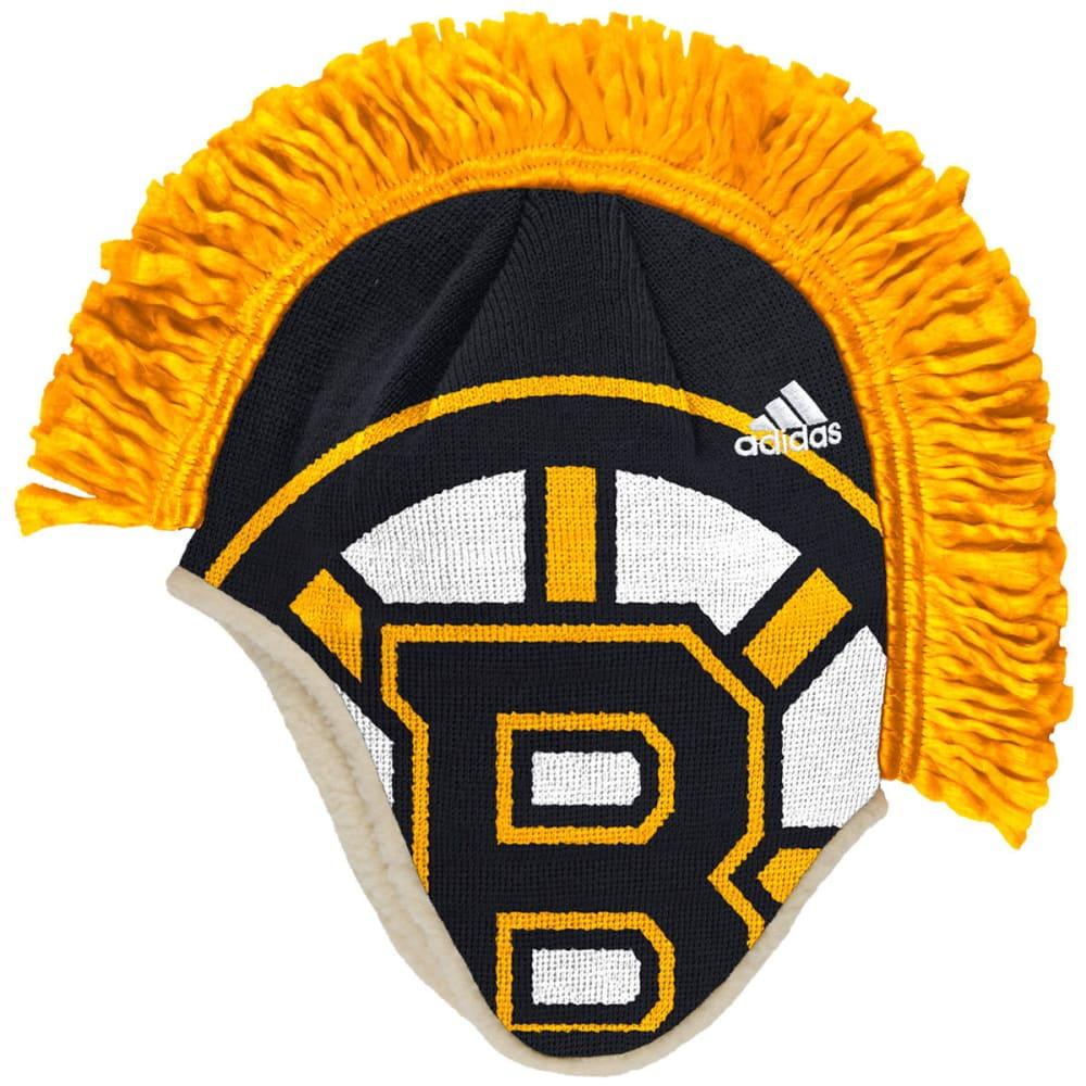 BOSTON BRUINS Mohawk Knit Hat - BLACK/GOLD