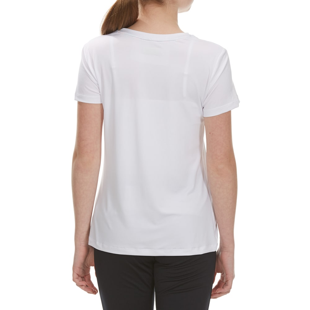 "RBX Girls' ""Girls Lead"" Short-Sleeve Tee - WHITE"
