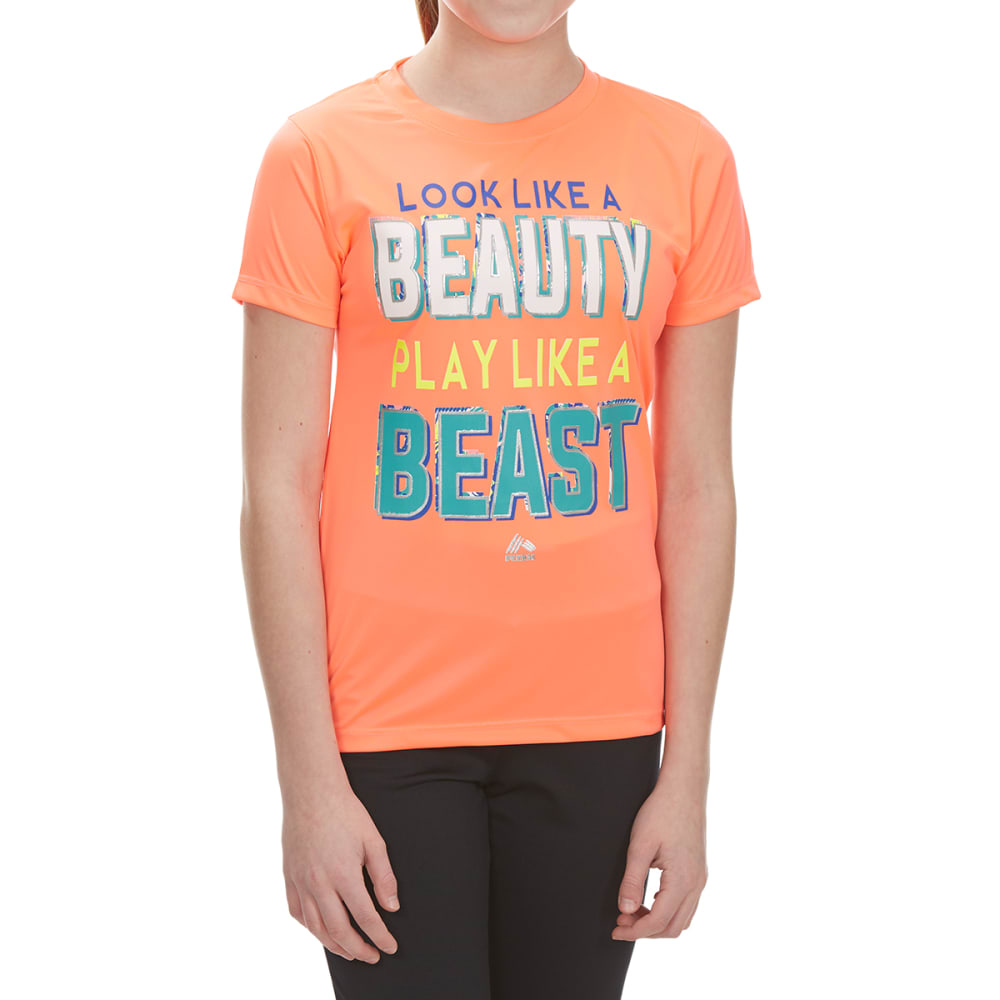 RBX Girls' Look Like A Beauty Screen Tee - HOT MELON