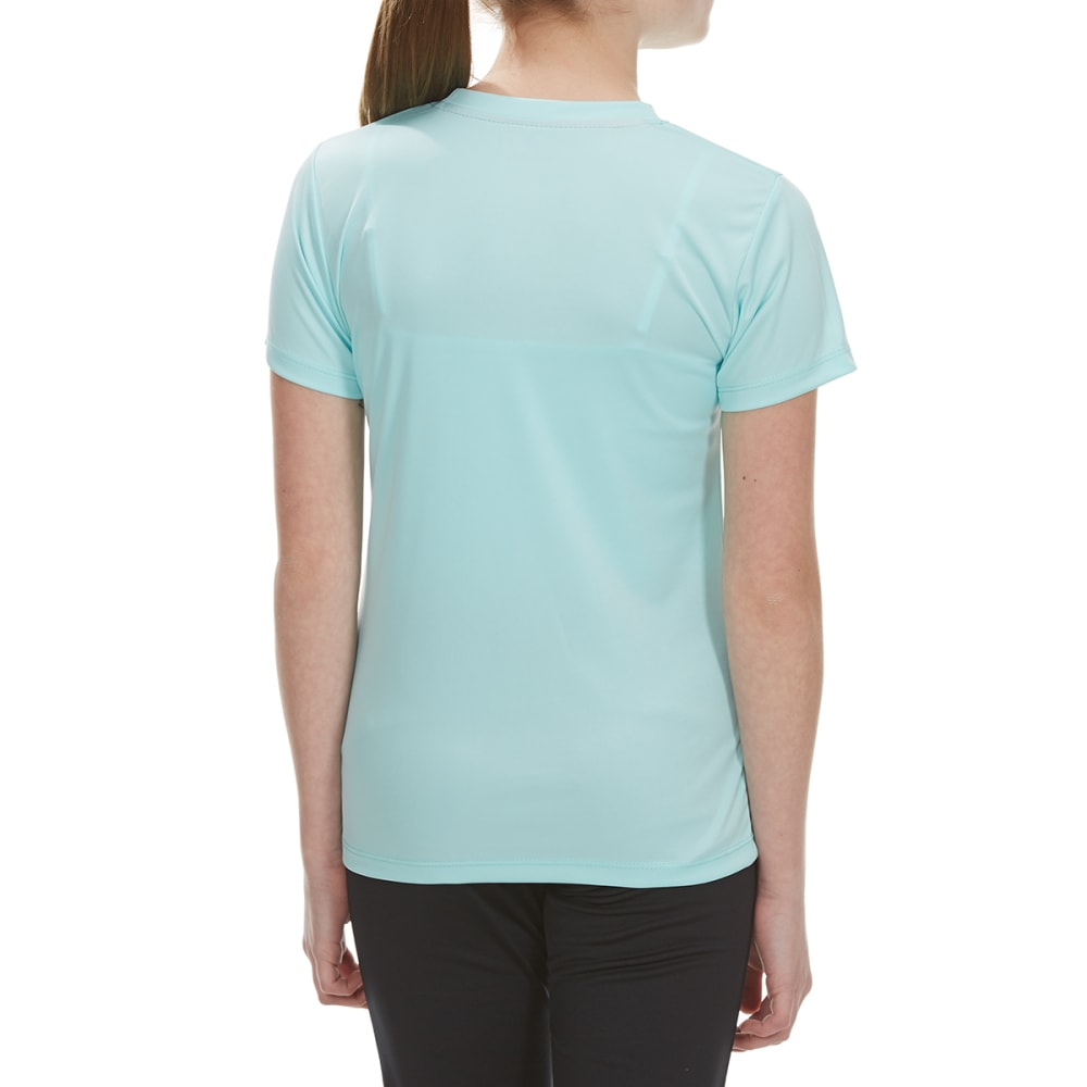 RBX Girls' Miss Awesome Screen Tee - MINT FLOWER