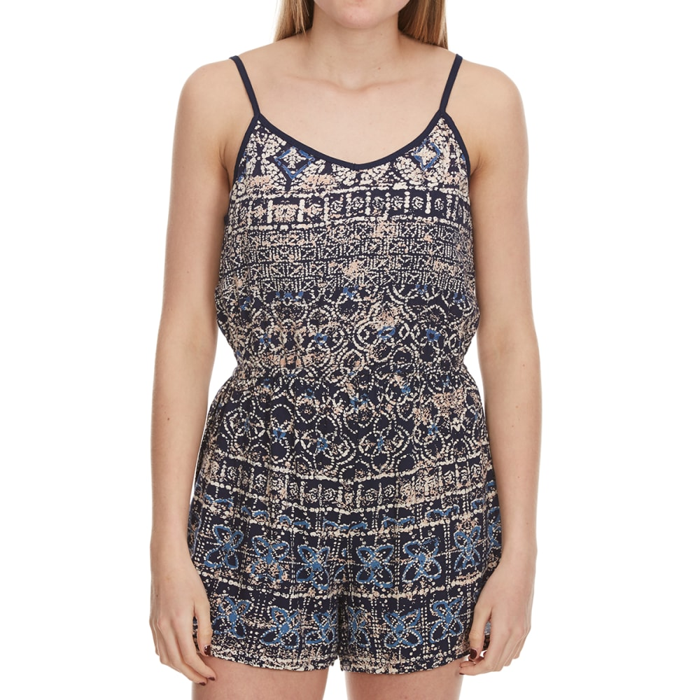 Star Of India Juniors Printed Cami Romper - Blue, S
