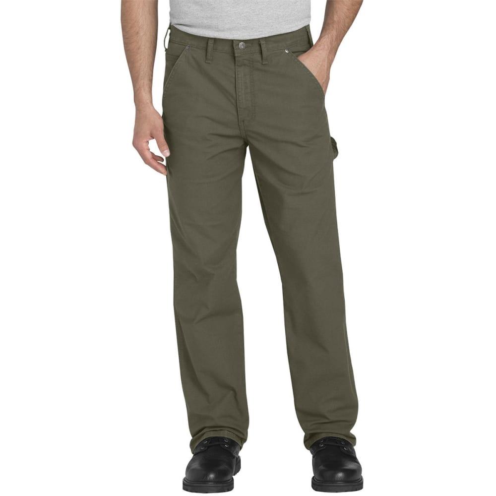 DICKIES Men's FLEX Regular Fit Straight Leg Tough Max Ripstop Carpenter Pants 30/30