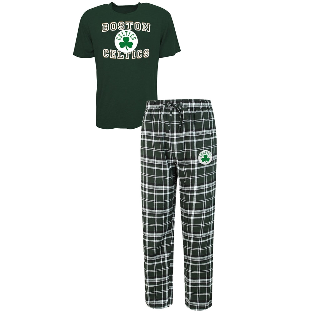 Boston Celtics Men's Sleep Set - Green, XL