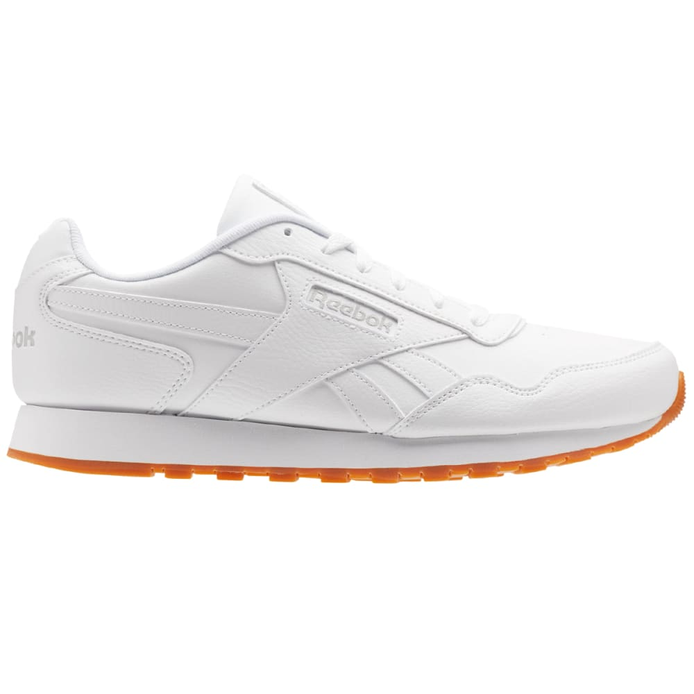 REEBOK Men's Classic Harmon Running Shoes, White/Gum - WHITE CM9203