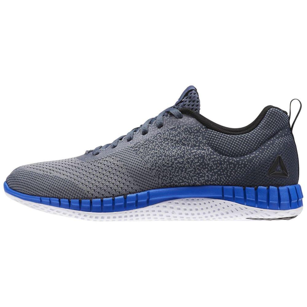 REEBOK Men's Print Run Prime Ultra Knit Running Shoes - GREY