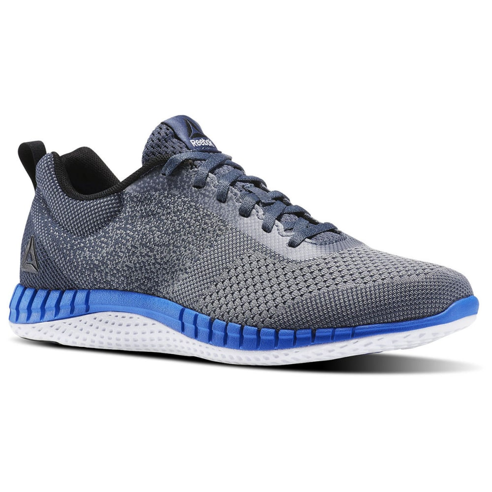 REEBOK Men's Print Run Prime Ultra Knit Running Shoes - GREY
