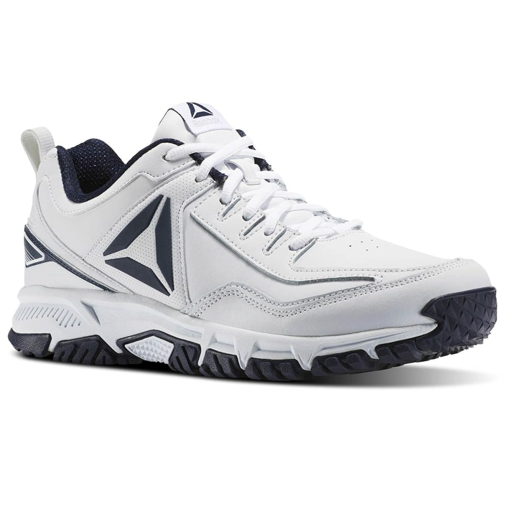 REEBOK Men's Ridgerider 2.0 Cross Training Shoes, White, Wide - WHITE