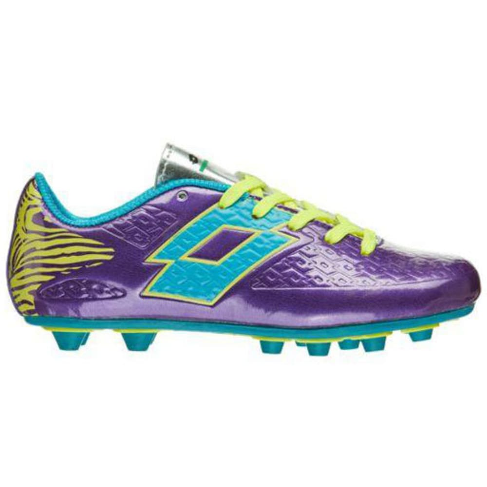 LOTTO Girls' Defender Soccer Cleats, Purple - PURPLE