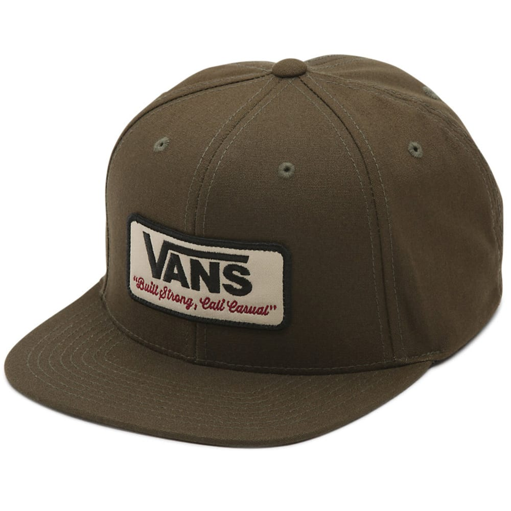 VANS Guys' Rowley Snapback Hat - KCZ-GRAPE LEAF