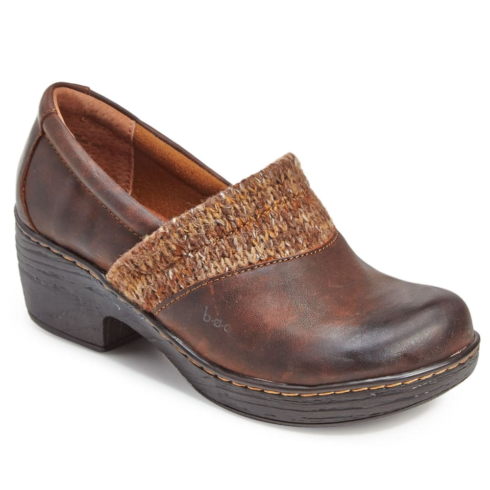 B.o.c. Women's Daphnis Clogs, Brown/multi