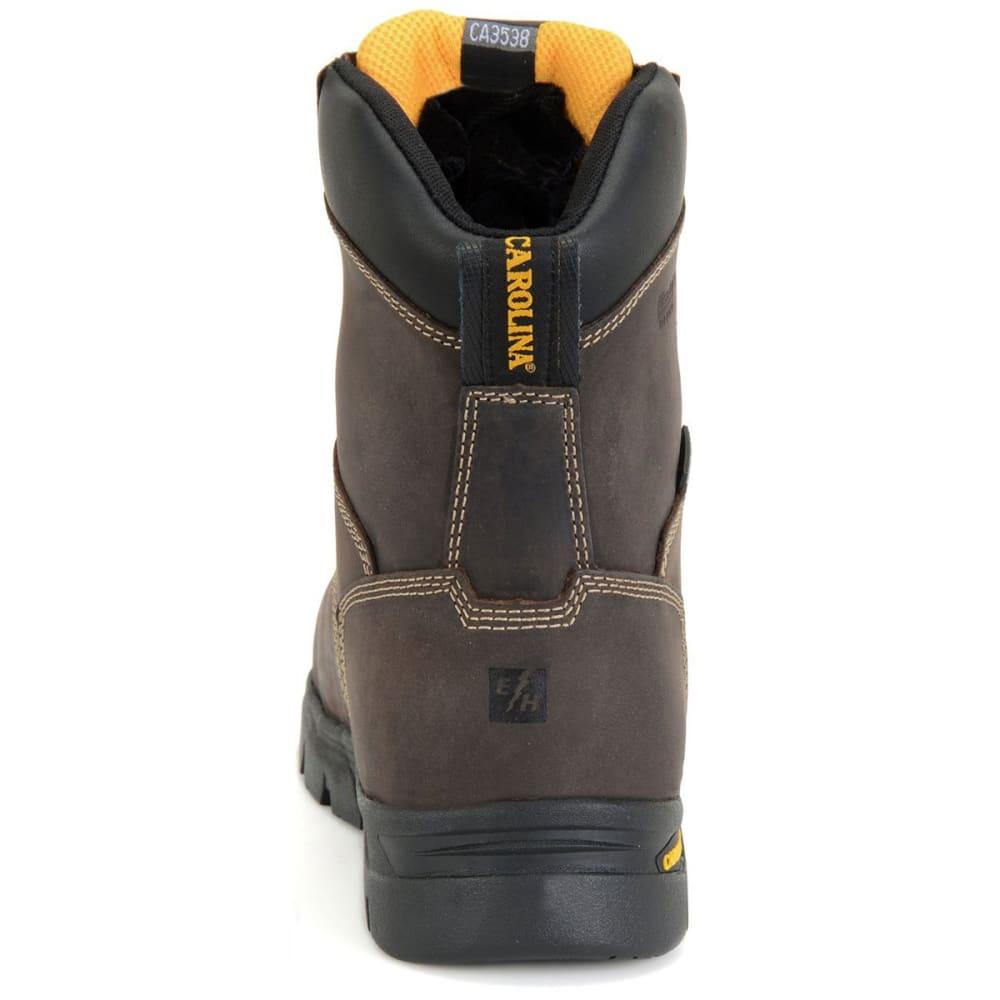 CAROLINA Men's 8 in. Insulated Circuit Hi Waterproof Composite Toe Work Boots, Bandit Dark Brown, Wide - BANDIT DARK BROWN