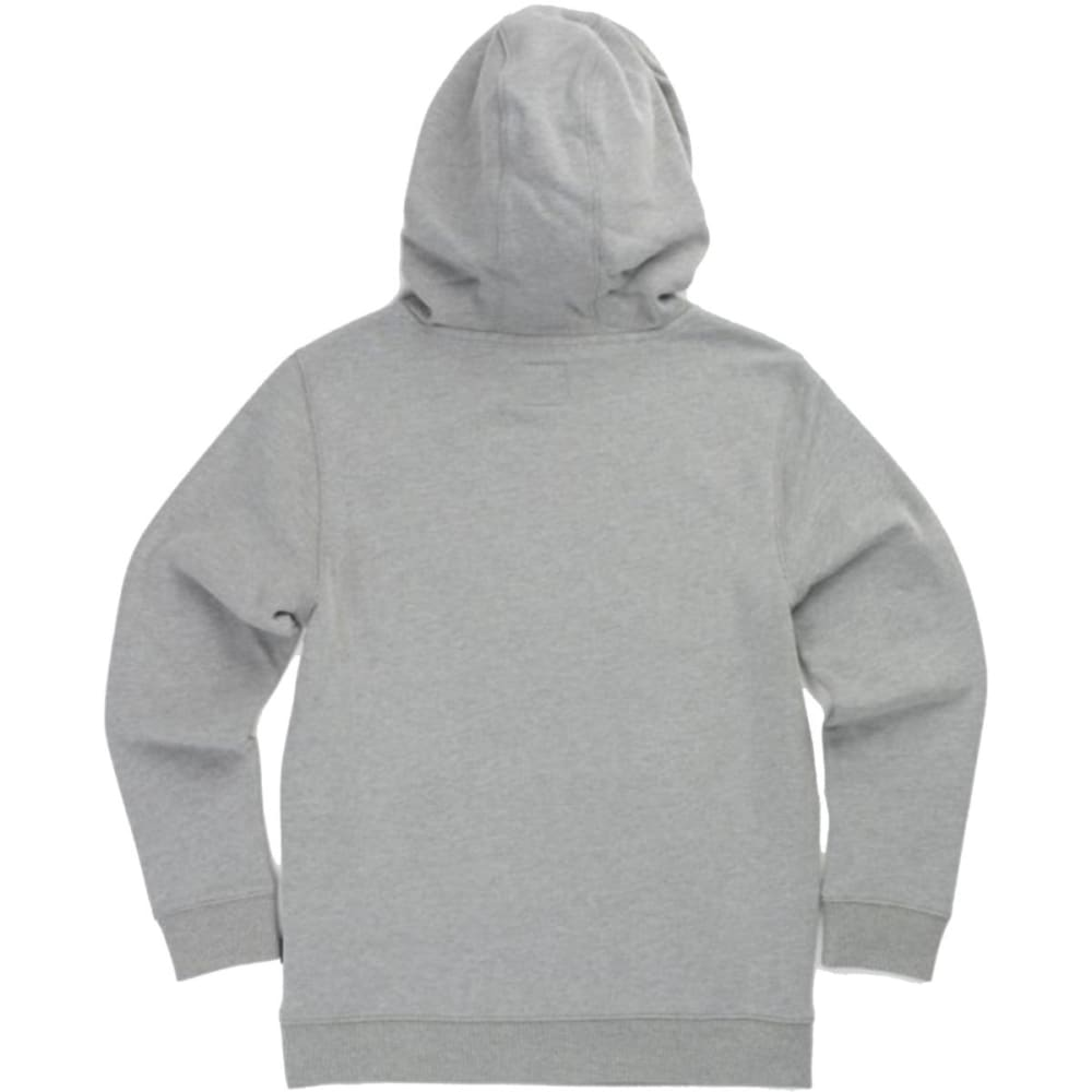 VANS Big Boys' Classic Pullover Hoodie - ADY- CEMENT HTR/ BLK