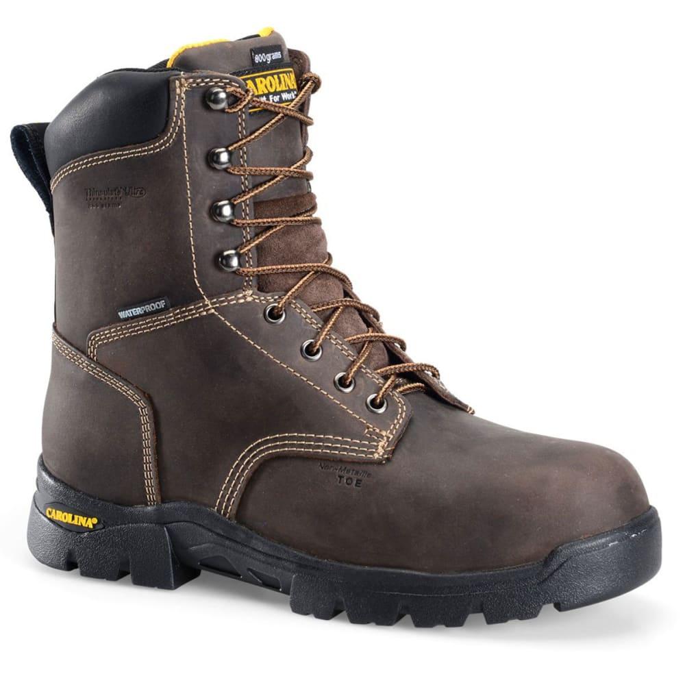 CAROLINA Men's 8 in. Insulated Circuit Hi Waterproof Insulated Composite Toe Work Boots 8
