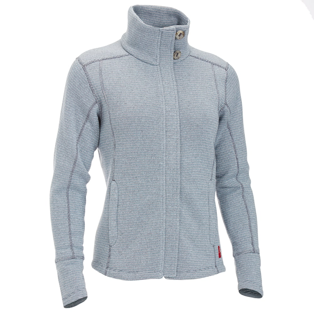 EMS Women's Emma Full-Zip Sweater Jacket - BLUE NIGHTS