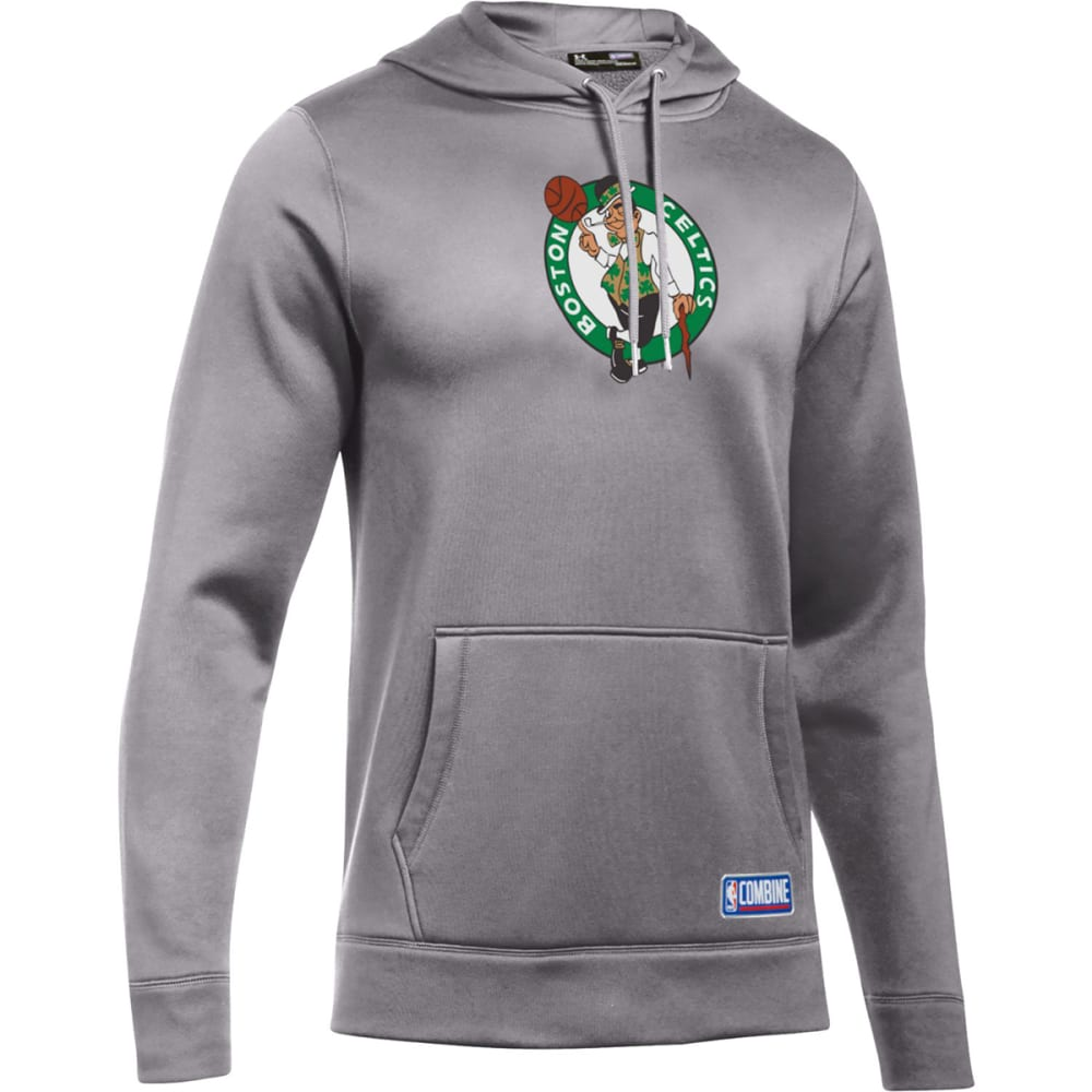 ec53af28aaf UNDER ARMOUR Men  39 s Boston Celtics Combine UA Team Logo Pullover Hoodie -