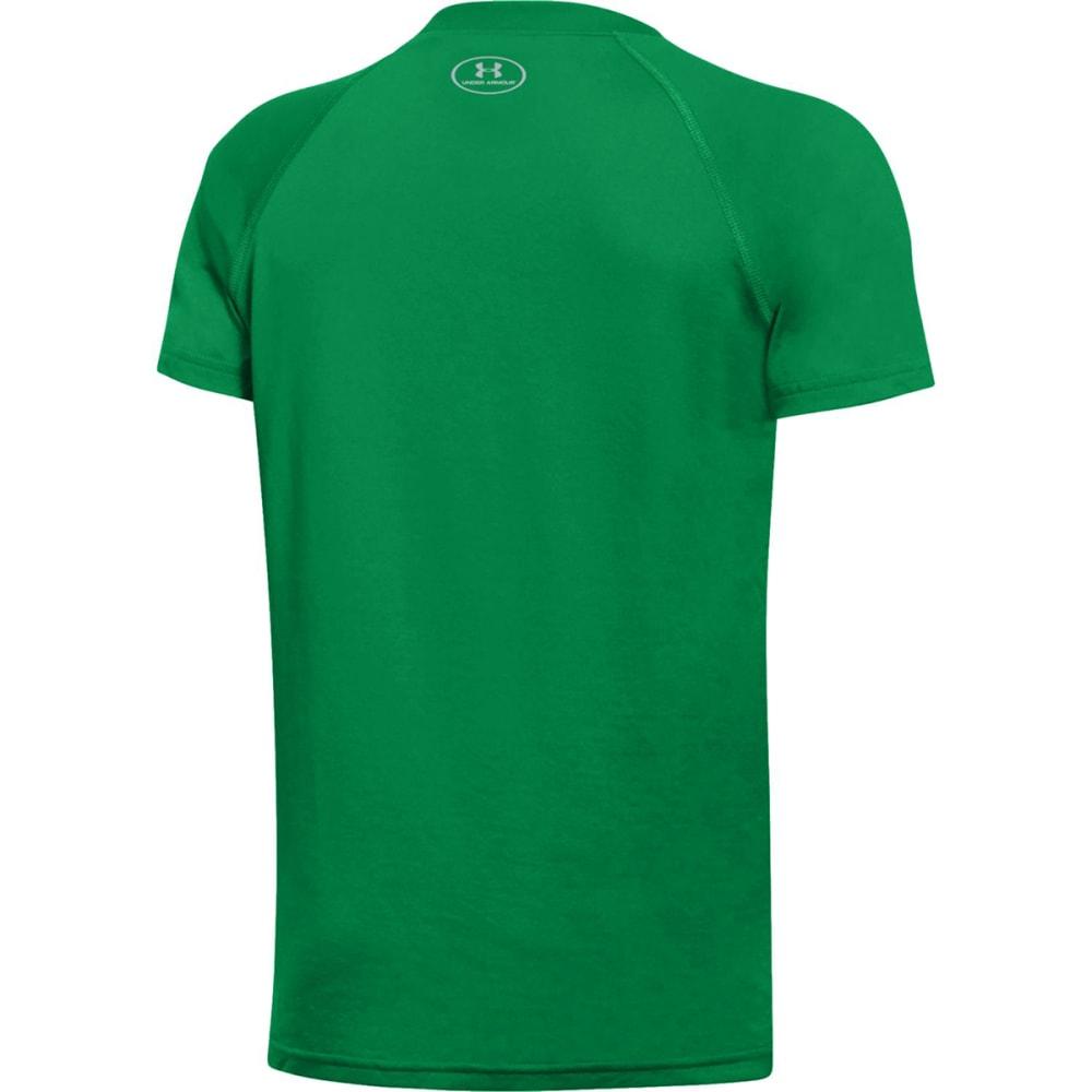 UNDER ARMOUR Boys' Boston Celtics Combine Authentic Beast OTB UA Tech™ Short-Sleeve Tee - GREEN