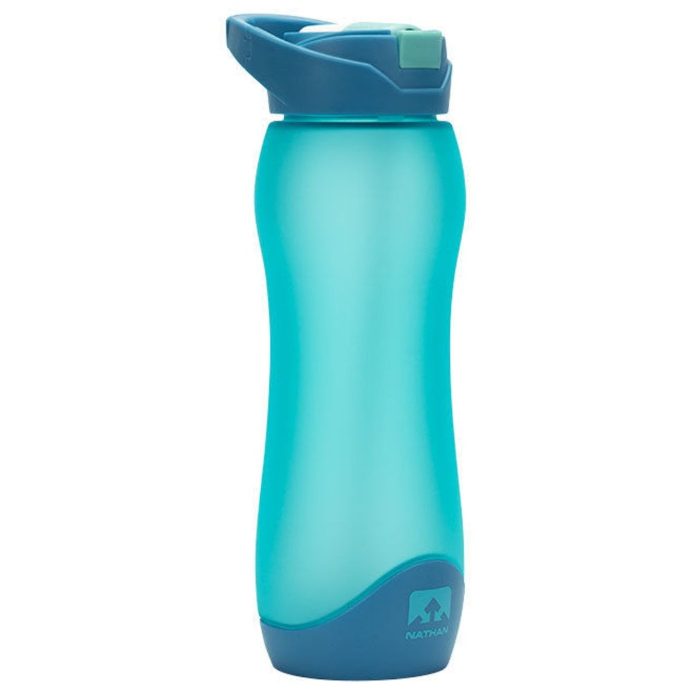 NATHAN SPORTS FlipStream Frosted Hydration Bottle, 25 Oz. - BLUE RADIANCE-0042