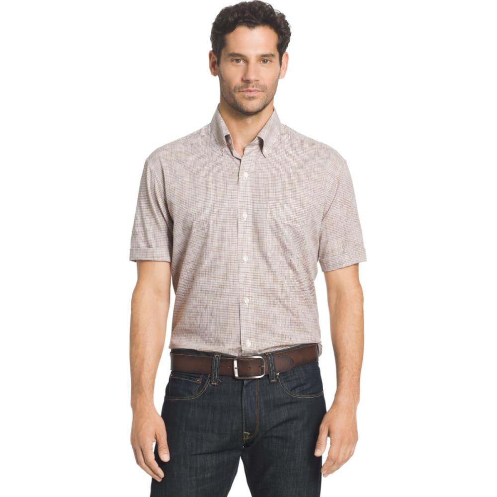 ARROW Men's Coastal Cove Short Sleeve Woven Shirt - SEPIA TINT-216