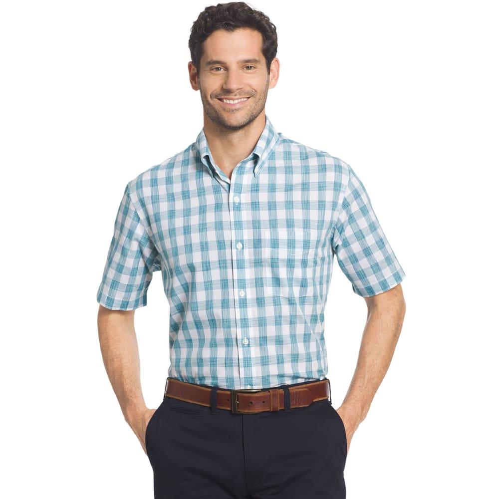 ARROW Men's Coastal Cove Short-Sleeve Shirt - FAIENCE-474